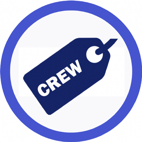Simple Crew Tags